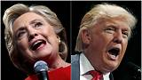 Trump e Clinton all'offensiva finale in vista del voto dell'otto novembre