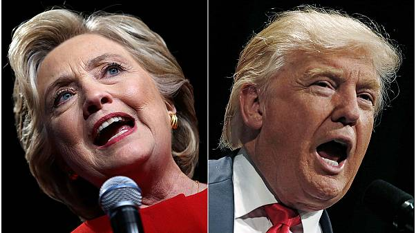 Trump e Clinton all'offensiva finale in vista del voto dell'otto novembre