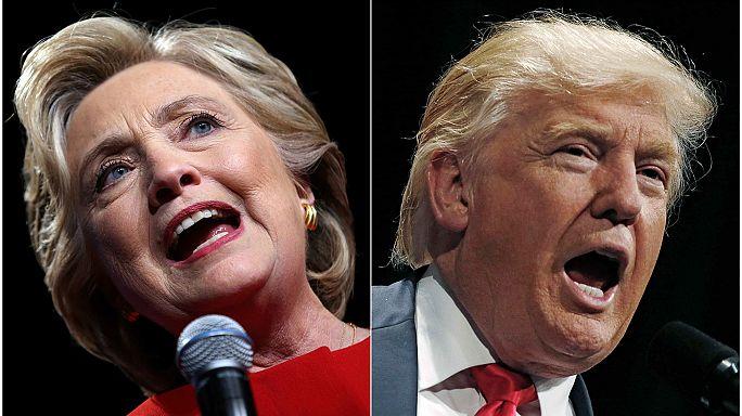 Клинтон и Трамп агитируют в колеблющихся штатах