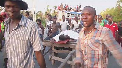 Haïti : difficile organisation de l'aide humanitaire un mois après Matthew