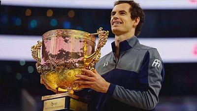 Tennis : Andy Murray numéro un mondial