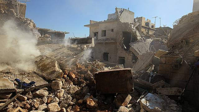 Fighting resumes in Aleppo