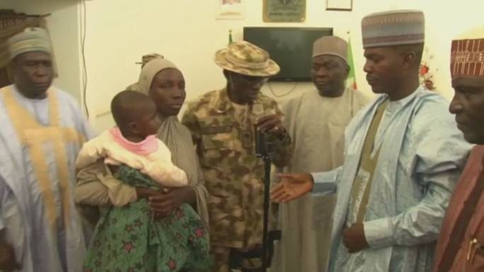 Abducted Chibok schoolgirl found with baby boy