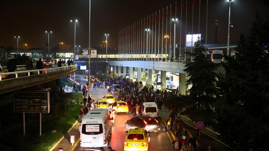Shots fired at Istanbul's main airport in security alert