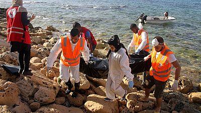Des dizaines de corps de migrants récupérés au large de Tripoli