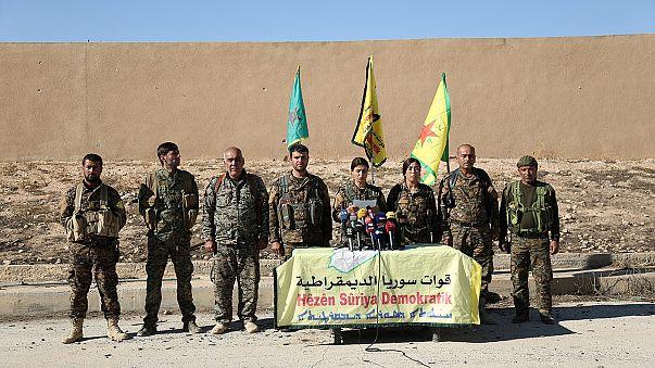Las Fuerzas Democráticas Sirias anuncian el inicio de una ofensiva para retomar Raqqa, el feudo de Dáesh