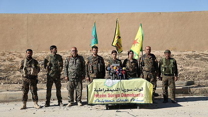 Gegen den IS: Offensive auf Rakka hat begonnen