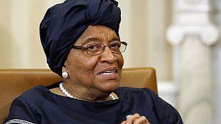 Ellen Johnson Sirleaf in Guinea-Bissau for peace negotiations