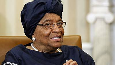 Ellen Johnson Sirleaf in Guinea-Bissau for peace negotiations