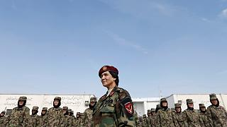 Video: Training Afghanistan's women soldiers