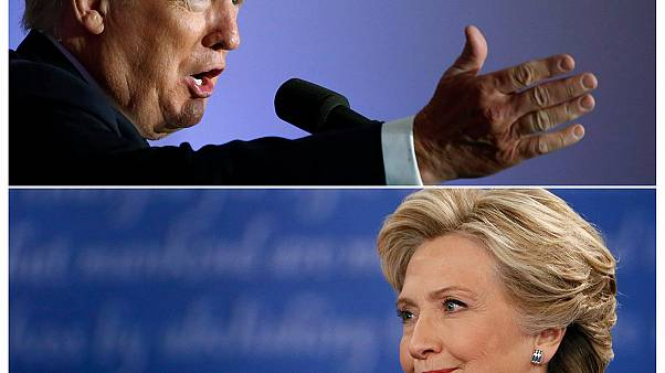 Трамп дышит в спину Клинтон