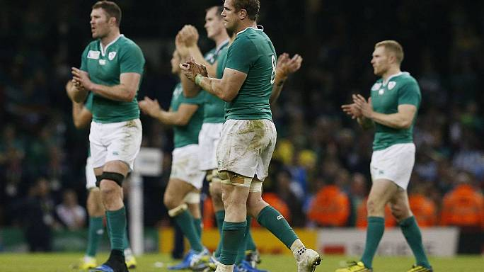 Irlanda faz os All Blacks descerem à terra