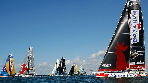 The eighth edition of the Vendee Globe gets underway