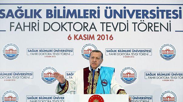 """أردوغان للغرب:""""لا أبالي إذا نعتوني بالدكتاتور"""""""