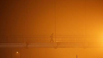 Pollution alarmante à New Delhi (Inde)