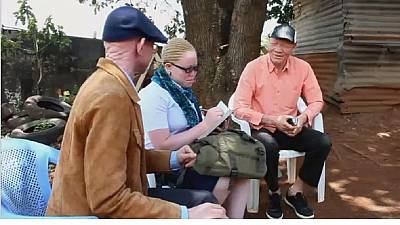 DR Congo albinos live in fear