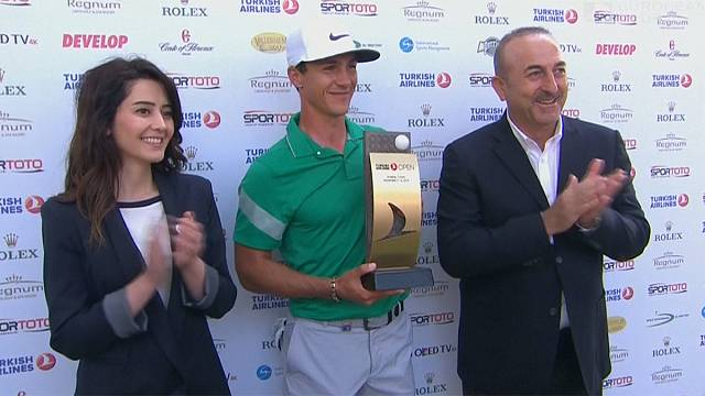 On-form Olesen wins Turkish Airlines Open title