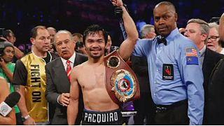 Manny Pacquiao remporte la ceinture WBO des welters