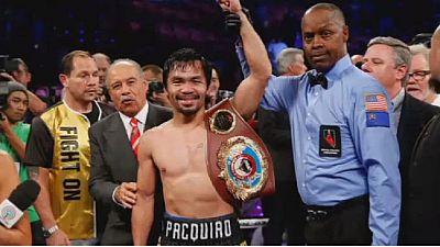 Manny Pacquiao de nouveau champion du monde — Welters Welters