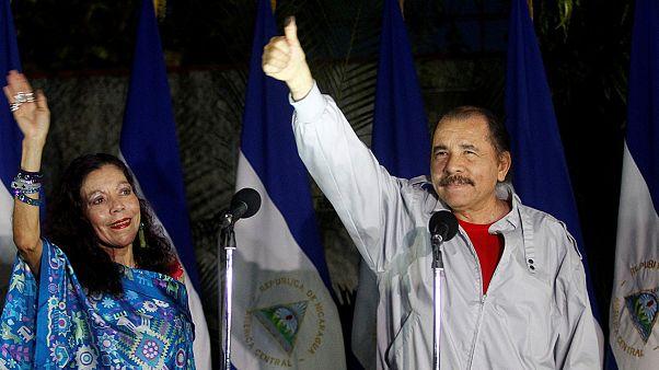 پیشتازی دانیل اورتگا در شمارش اولیه آرای انتخابات ریاست جمهوری نیکاراگوئه