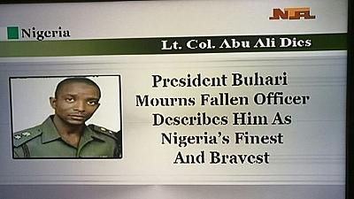 Nigeria mourns its 'finest and bravest' Boko Haram fighter