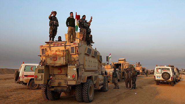 Иракская армия и пешмерга - в нескольких километрах от Мосула