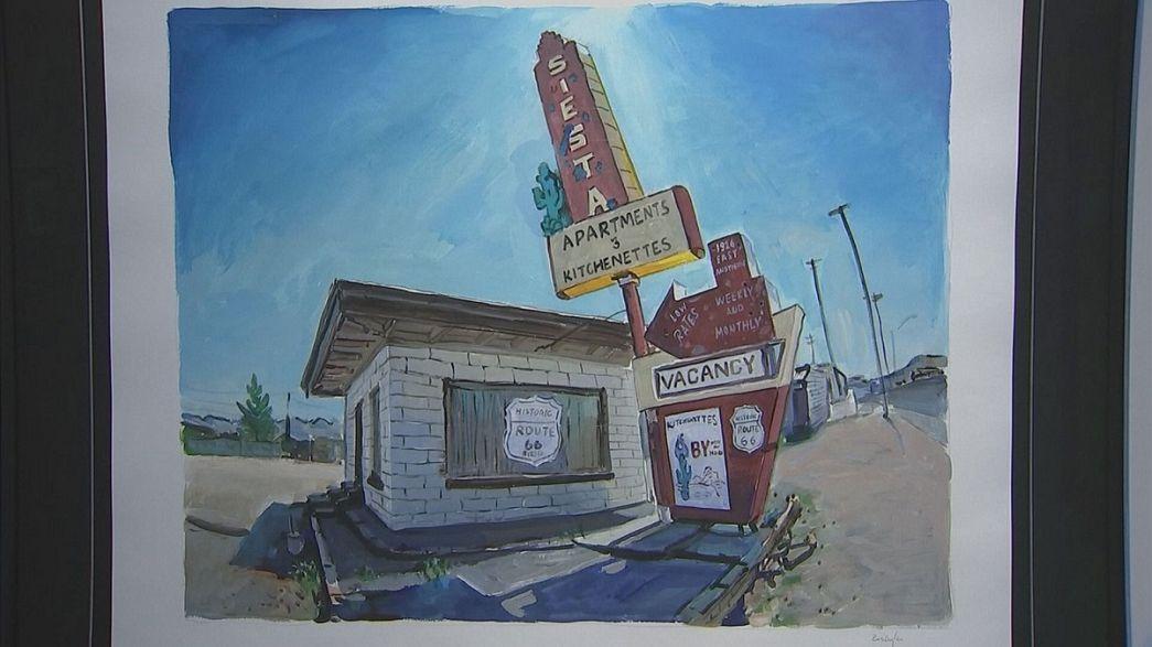 I sentieri battuti e dipinti da Dylan