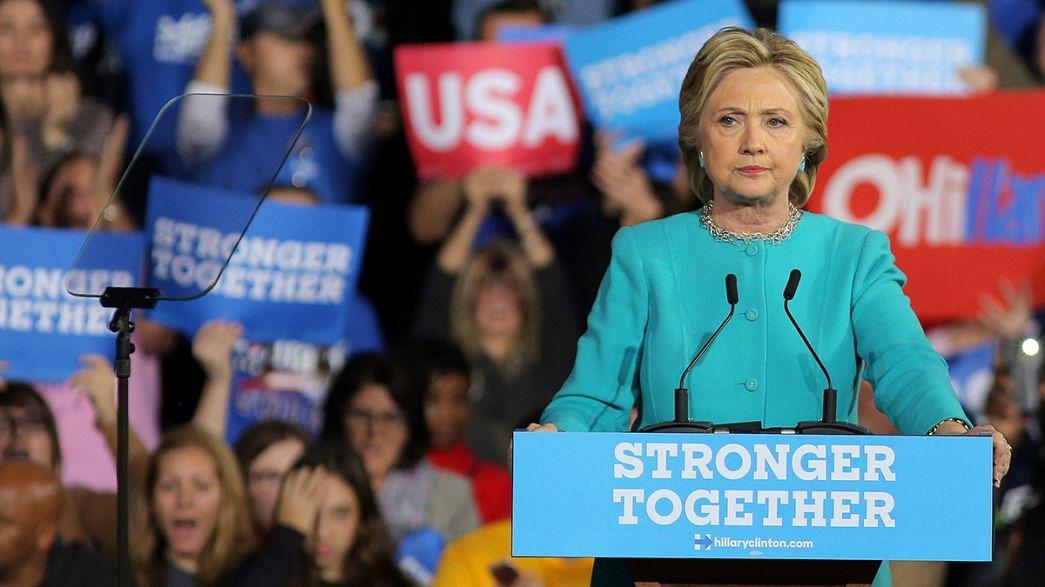 Blanchie par le FBI, Hillary Clinton joue son va-tout