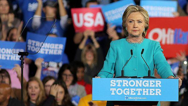 Az FBI tisztázta Hillary Clintont az email-ügyben