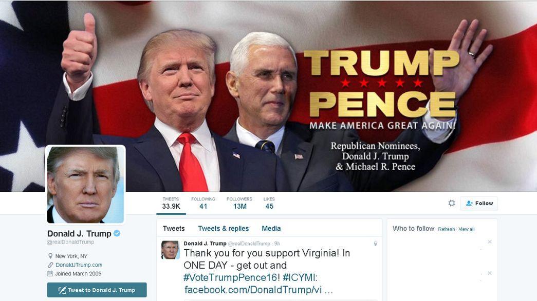 """Trump """"proibido"""" de usar o Twitter"""