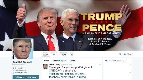 """دونالد ترامب ممنوع من التغريد على موقع """"تويتر"""" للتواصل الاجتماعي"""