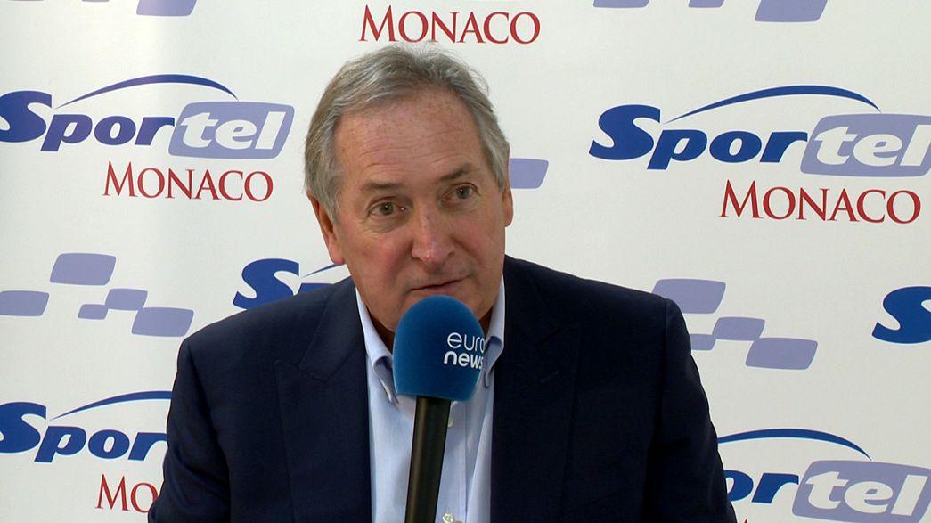 Gérard Houllier si confida con euronews