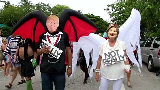 Dez momentos da campanha eleitoral americana