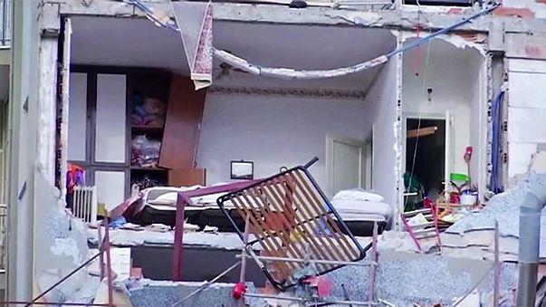 Ураган в Италии: два человека погибли