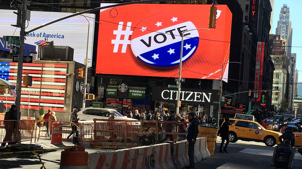 Redes Sociais: As histórias mais partilhadas sobre Clinton e Trump durante a campanha