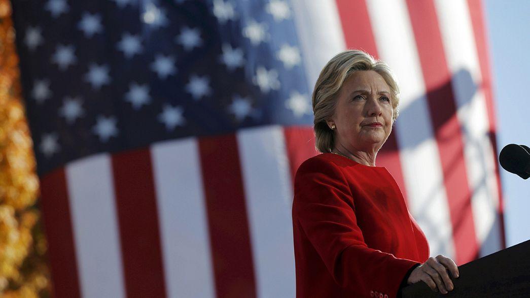 EUA: Hillary Clinton joga a carta da unidade do país
