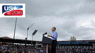 Obama: ''Faites pour Hillary, ce que vous avez fait pour moi''