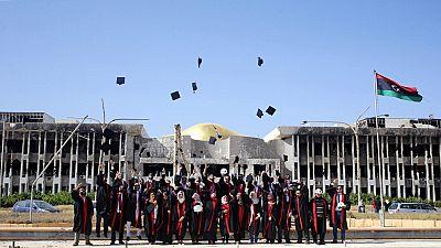 Libye : remise de diplômes à l'université de Benghazi