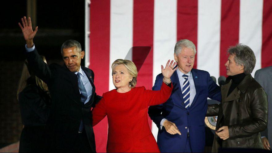 """Presidenciais EUA: Obama """"passa"""" testemunho a Hillary Clinton"""