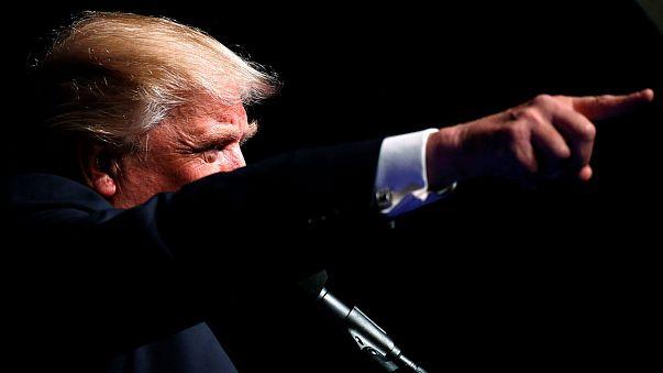 Donald Trump schließt mit Endspurt durch mehrere Bundesstaaten