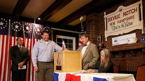 ABD başkanlık seçimlerinde ilk sonuçlar Dixville Notch köyünden geldi