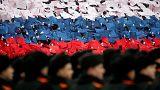 Москва: марш в честь парада 7 ноября 1941 года на Красной площади