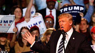حدة غير مسبوقة في ختام حملة ترامب الانتخابية