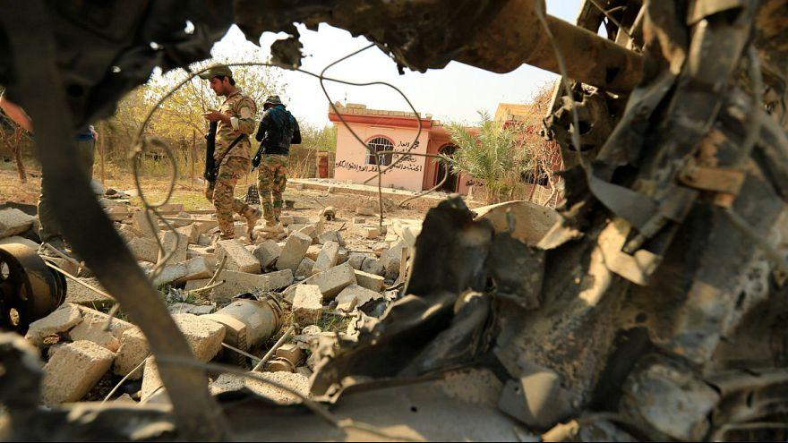 الشرطة الاتحادية العراقية تعثر على مقبرة جماعية في حمام العليل