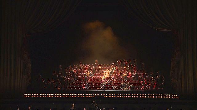 """Ópera: """"Los cuentos de Hoffmann"""" en la Ópera Bastilla de París"""
