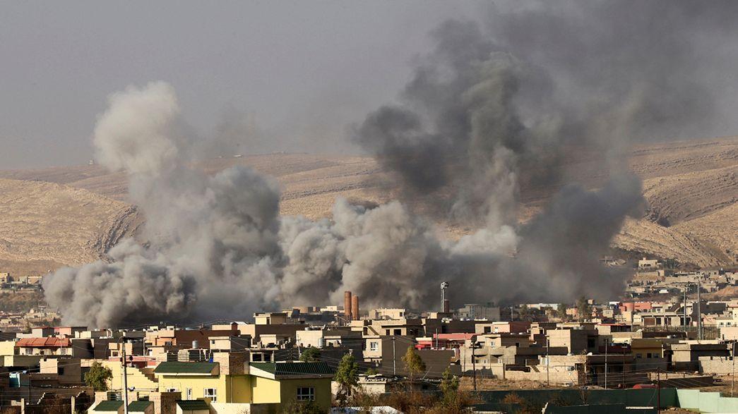 القوات الكردية تعلن سيطرتها الكاملة على بلدة بعشيقة في الموصل