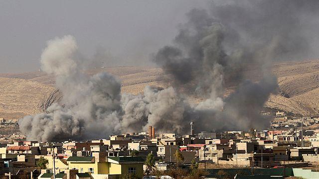 Las fuerzas kurdas avanzan en el noreste de Mosul
