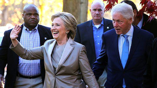 """Hillary Clinton: """"Vou fazer o meu melhor se tiver a sorte de ganhar"""""""