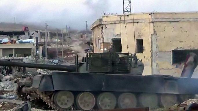 Avancée des forces pro-Bachar al-Assad à Alep