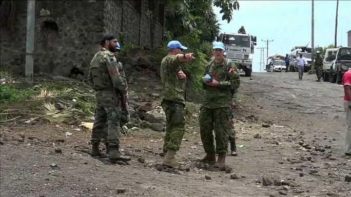 RDC : les casques bleus visés par un attentat